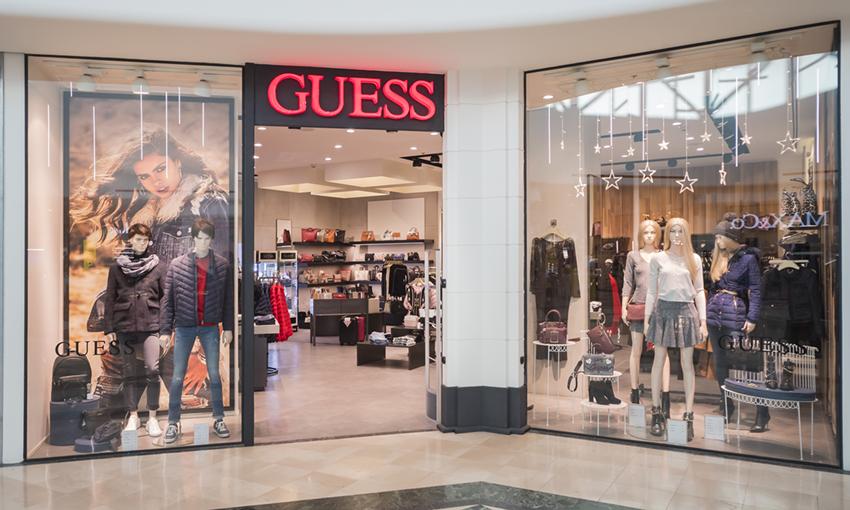 Negozi Guess, elenco punti vendita